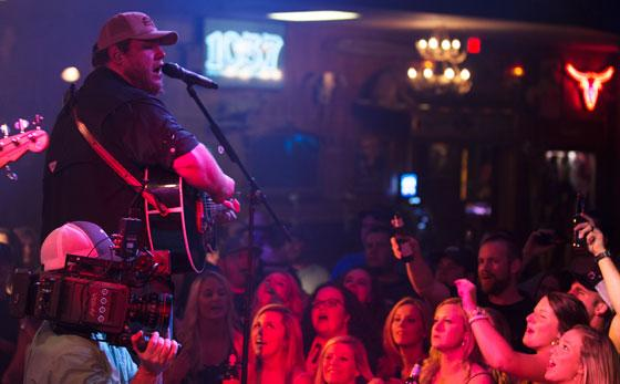 Luke Combs Rocks Coyote Joes for Music Video