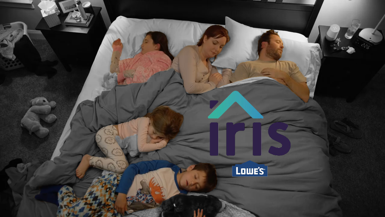 Lowe's Iris Commercials